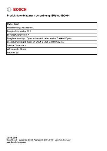 Bosch HBA33B150 Backofen - 3