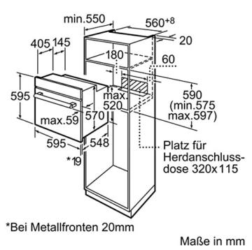 Bosch HBA33B150 Backofen - 8