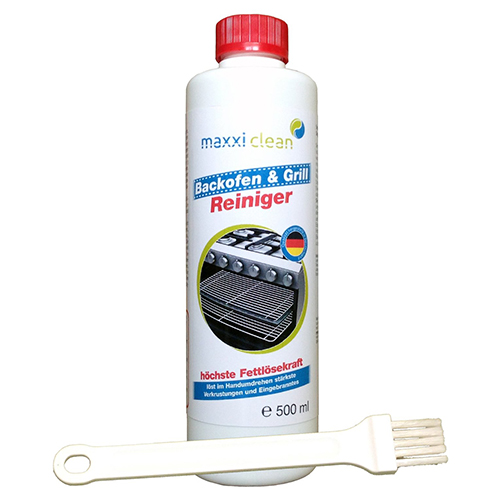 maxxiclean Backofen- & Grillreiniger 500ml + Pinsel thumbnail
