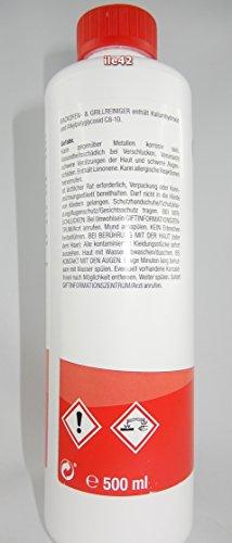 proWin Backofen- & Grillreiniger 500ml - 3